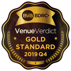 Venue Verdict Gold Award 2019